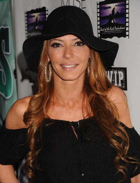 """Jenna Russo attending """"Mob Wives"""" star Drita D'Avanzo's Hurricane Sandy Relief Celebrity Fundraiser at WIP in NYC"""