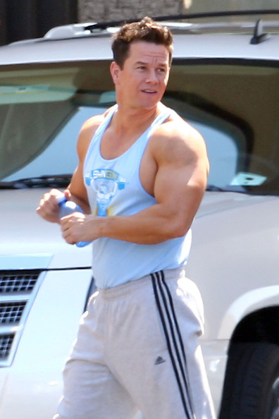 Mark Wahlberg In Stars On The Set Of Pain And Gain 3 Of
