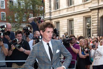 Eddie Redmayne Celebs at the GQ Men of the Year Awards