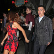 Electra Avellan Colton Haynes Leaves the Chateau Marmont