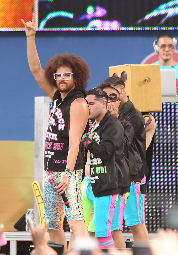 Good Morning America How Are You Chords : Lmfao photos perform on good morning