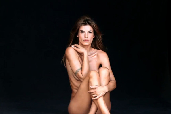 Elisabetta Canalis, George Clooney's ex-girlfriend, goes nude for PETA's ...