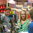 Emily Maynard Emily Maynard and Jef Holm are all lovey-dovey as they make an outting to Dean and Deluca and Harris Teeter in Charlotte