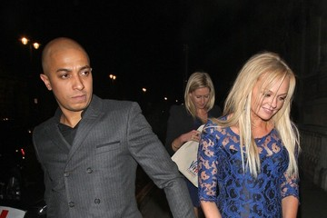 Emma Bunton Jade Jones Celebs Leaving the Viva Forever Party