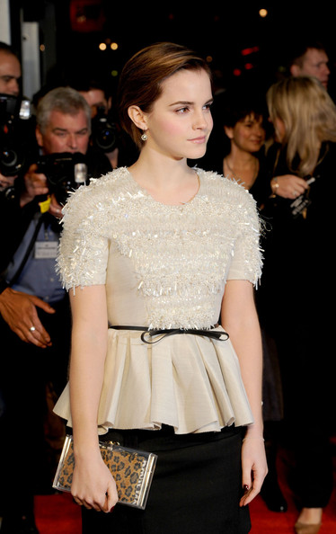 "Emma Watson Emma Watson at the UK premiere of ""My Week With Marilyn"", held at the Cineworld in Haymarket, London."