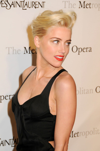 Amber+Heard in Celebs at the Premiere of