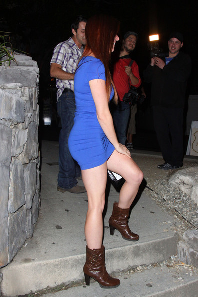 Erin Cosgrove Dresses Up in Hollywood