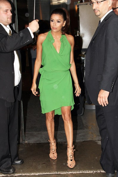 Eva Longoria - Eva Longoria Steps Out with a Smile in NYC