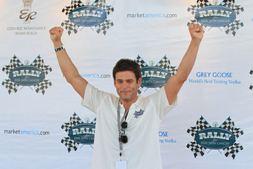 "Ivan Sergei Eva Longoria at the ""The Rally for Kids with Cancer Scavenger Cup"" in Miami Beach"