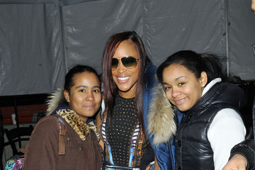 Eve Jihan Jeffers Rapper Eve Out for Fashion Week in NYC