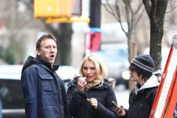 Evelina Turen Celebs Film 'Are We Officially Dating?' in NYC