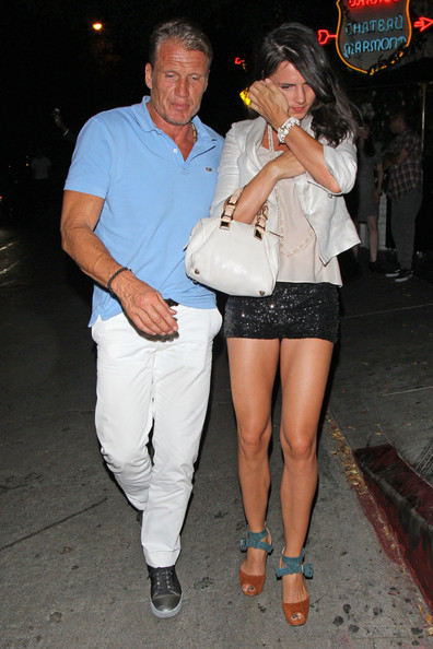 Dolph Lundgren And Jenny Sandersson At Chateau Marmont 5