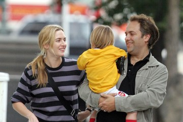 Joe Alfie FILE: Kate Winslet and husband Sam Mendes of seven years have split, seen here during happier times with their son Joe Alfie