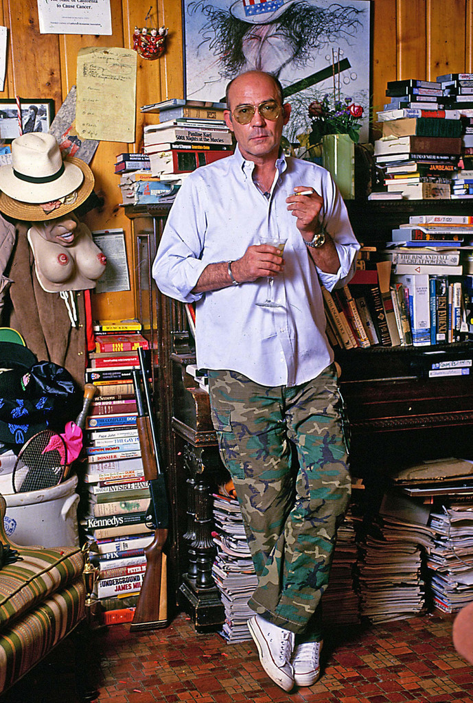hunter s thompson essay Hunter s thompson sketched with eyebrow pencil and lipstick by ralph steadman the following essay was originally published in scanlan's monthly, vol 1,.