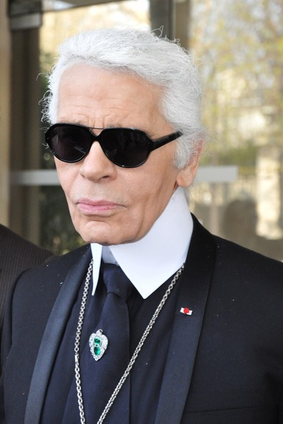 Famous Fashion Designers In France Karl Lagerfeld in Paris