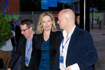 Ffion Jenkins Foreign Secretary, William Hague and his wife Ffion arrive at their hotel for the start of the Conservative Party Autumn Conference in Manchester