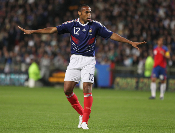 France and Thierry Henry - The
