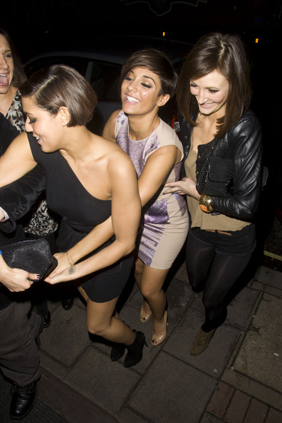 Frankie Sandford Celebrates Her Birthday at China White