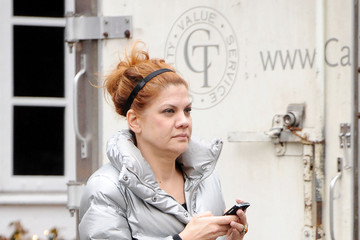 Kristen Johnston Kristen Johnston in NYC. Source: Pacific Coast News