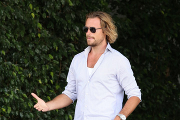 Gabriel Aubry Gabriel Aubry at Fergie's Baby Shower