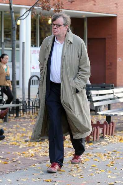 Garrison Keillor Out in NYC