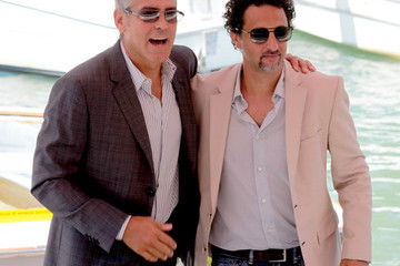 Grant Heslow George Clooney at 'The Ides of March' Photocall
