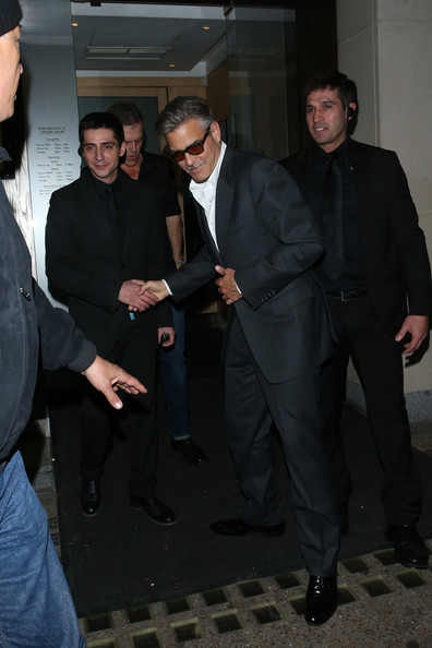 Photos: George Clooney in London May 23, 2013 George+Clooney+seen+leaving+Nobu+Berkeley+Gq3Jk7ks1Dml
