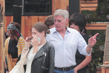Georgia Ford Harrison Ford and Daughter Get Lunch in LA