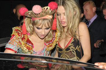 Georgia May Jagger Suki Waterhouse Celebs at AnOther Magazine Party in London — Part 2