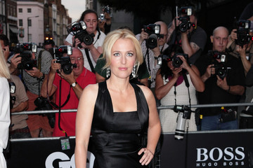 Gillian Anderson Red Carpet at the GQ Men of the Year Awards — Part 2