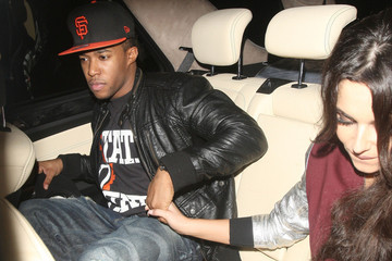 Girls Aloud Cheryl Cole and Tre Holloway Leave the Rose