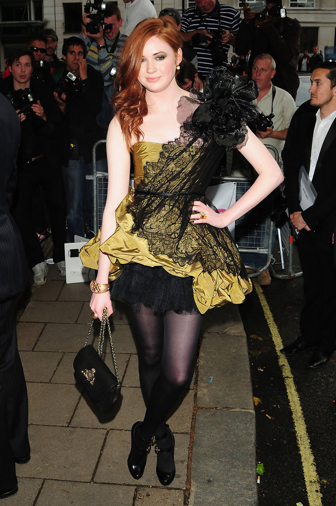 Karen Gillan Photos Photos Celebrities At The 2010