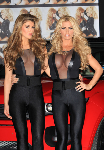katie price poses with amy willerton in this photo katie price amy ...