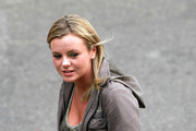 """""""Goddess"""" Bree Olson has a break outside Detroit's Fox theater ahead of Charlie Sheen's world debut in his """"Violent Torpedo of Truth Defeat Is Not An Option"""" tour. The opening show of the former """"Two and a Half Men"""" star's 22 date tour appeared to be poorly received, with many people wallking out before he finished."""