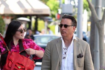 Alessandra Garcia-Lorido Andy Garcia Takes His Daughters to Lunch