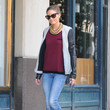 Guru Fashion and style icon Olivia Palermo looks cool as she is seen strolling around Brooklyn in New York City