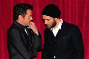Jude Law and Robert Downey Jr. Photos Photo