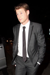 Benjamin McKenzie Gwen Stefani and Gavin Rossdale at the Pre-Oscar Soho House Party