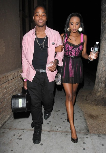 Photo of Leon Thomas III & his friend actress  Ariana Grande - Los Angeles