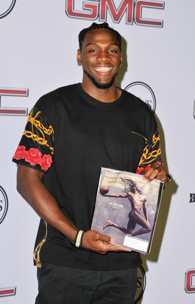 Kenneth Faried Espn Body Issue Arrivals at ESPN The