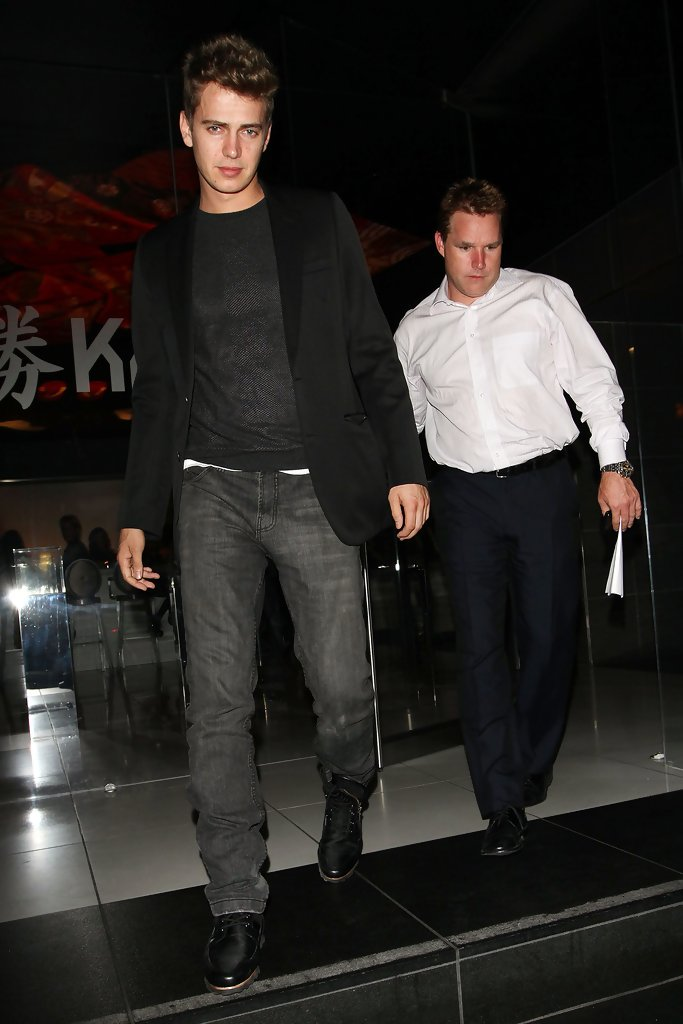 Hayden Christensen At Katsuya Zimbio