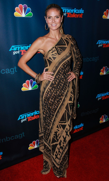 Heidi Klum - 'AGT' Stars Hit the Red Carpet in NYC