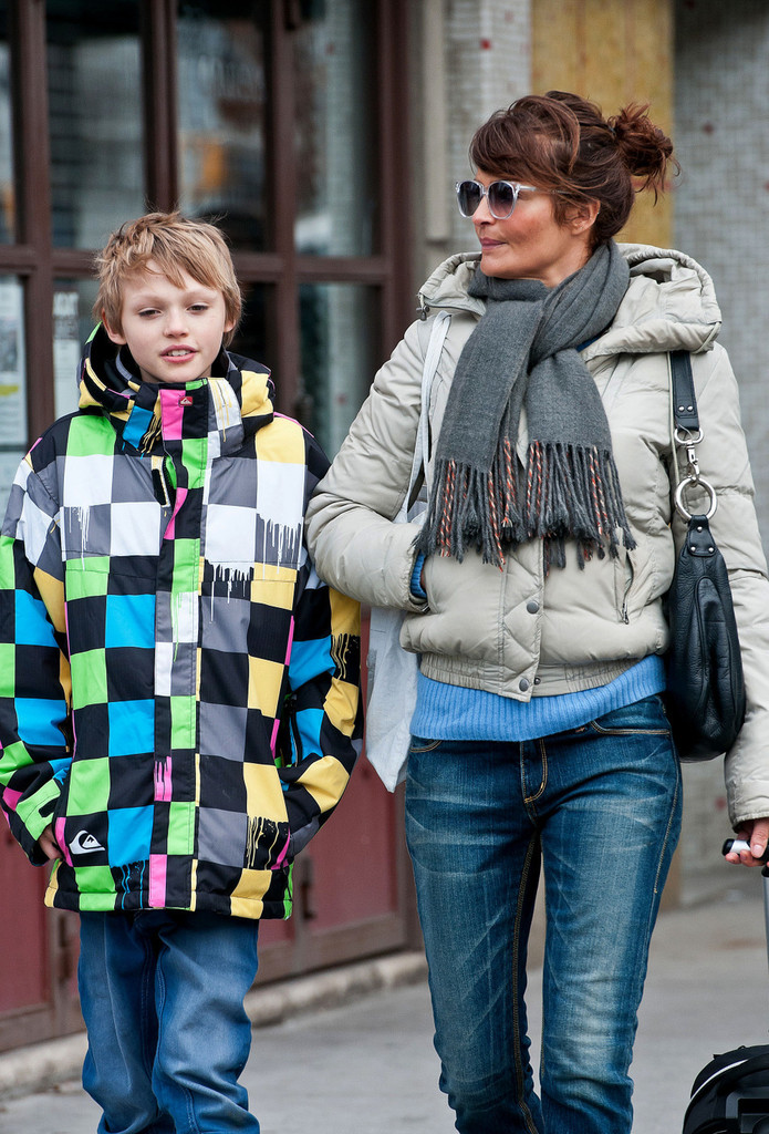 helena christensen son