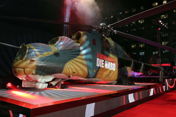 Helicopter 'A Good Day To Die Hard' Premieres in London 2