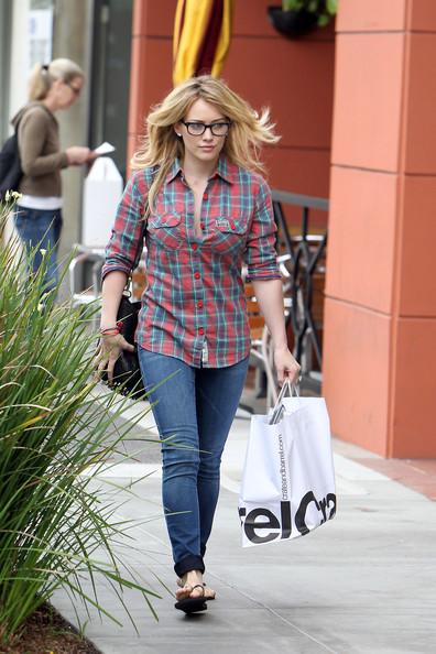 Hilary Duff Button Down Shirt