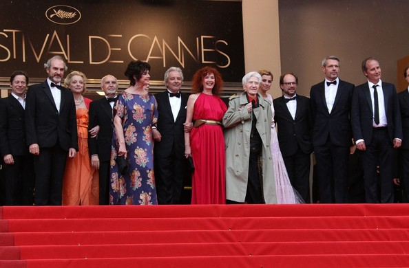 """Anne Consigny at the red carpet premiere of """"Vous n'avez encore rien vu'"""" at the Cannes Film Festival"""