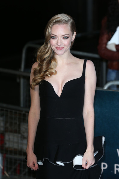 Amanda Seyfried in Celebs at the London Premiere of 'Les ...