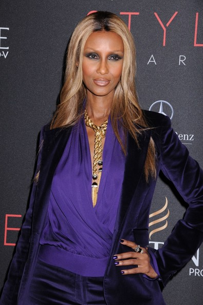 Iman - Celebs at the Style Awards in NYC