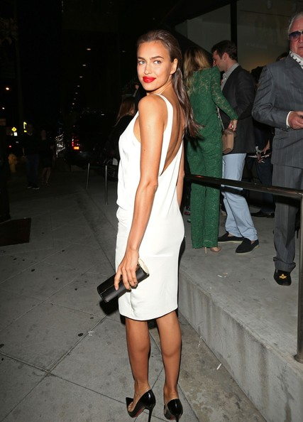Irina Shayk Zimbio Irina Shayk Leaves a Party