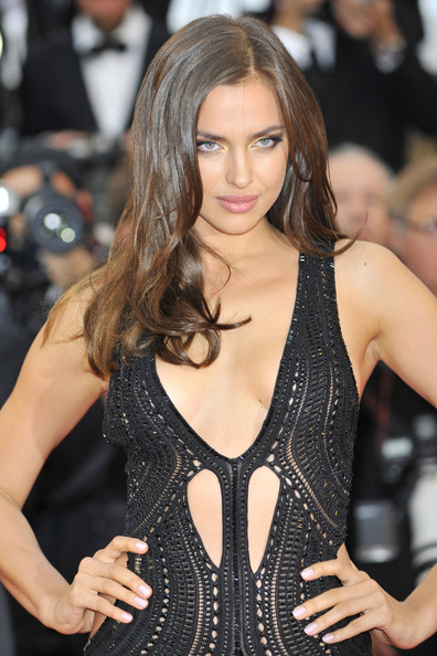 Irina Shayk Irina Shayk seen attending 'All is lost' red carpet premiere at 66th Cannes Film Festival 2013 held at the Palais des Festivals on the Croisette Avenue in Cannes.